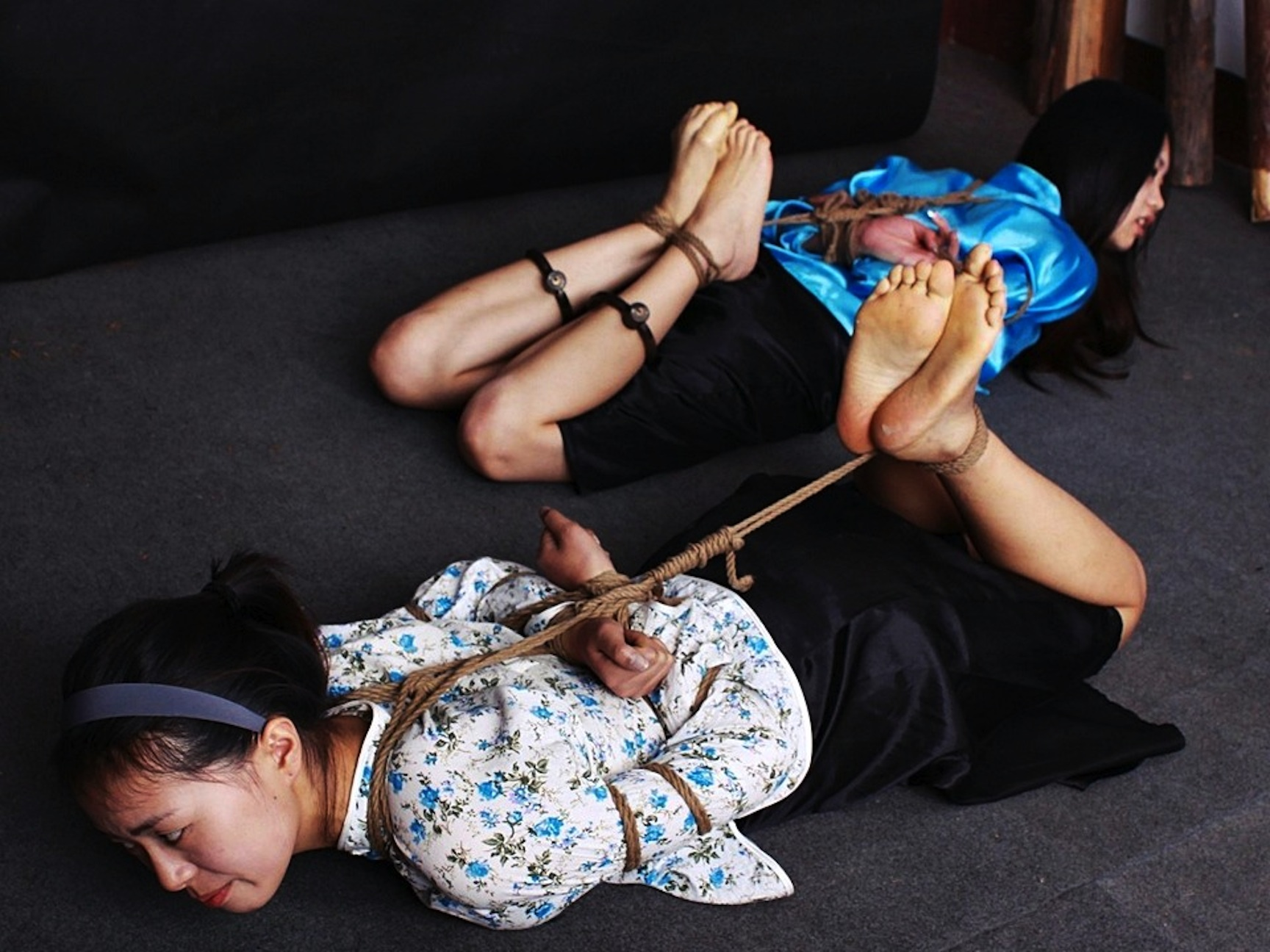 china girl hogtied